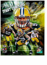 NFL Clay Matthews Authentic 8x10 Color Photo Collage Green Bay Packers - $6.75