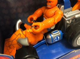 Marvel Spider-Man & Friends The Thing You Go- Cart Motorized Pull Back Go Action image 9