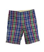 Gap Kids youth kids shorts Bermuda pants multicolor plaid size 12 - $11.23
