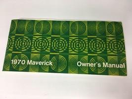 1970 70 FORD MAVERICK Owners Manual - $8.96
