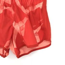 Adidas Donna Activewear Pantaloncini Corsa Misura Piccolo 3 'Rosso Stampa Tirare image 4