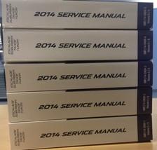 2014 Escalade GMC Yukon Chevy Suburban Tahoe Service Shop Repair Manual Set - $593.95
