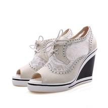 8s006 elegant mesh & sequin Martin sandals, US Size 4-8.5,white - €55,07 EUR