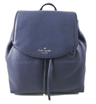TETS Kate Spade Small Breezy Mulberry Street Leather backpack Diver Blue... - ₨17,170.92 INR