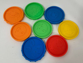Fisher-Price Laugh & Learn Piggy Bank coins 2006 lot 8 replacement pieces - $12.86
