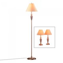 Antique Copper Lamp Trio - $107.95