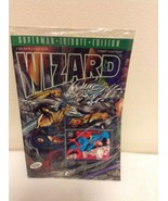 WIZARD Magazine SUPERMAN TRIBUTE EDITION 1st Edition SEALED GOLD EDITION  - $9.95