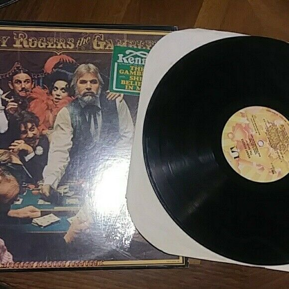 Kenny Rogers - The Gambler Vinyl Record LP 1978 United Artists Records VG/VG
