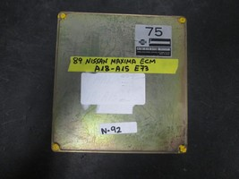 89 NISSAN MAXIMA ECM #A18-A15 E73 *See item description* - $14.85