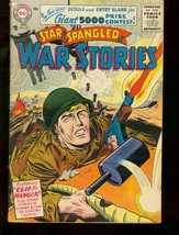 STAR SPANGLED WAR STORIES #50 1956 FIRST SILVER AGE DC VG+ - $50.44