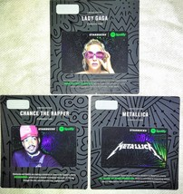 Starbucks Limited Edition Chance the Rapper, Lady Gaga & Metallica Gift Cards! - $5.99