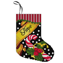 Hope Stocking Kit christmas cross stitch kit Colonial Needle  - $11.70