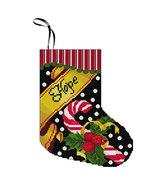 Hope Stocking Kit christmas cross stitch kit Colonial Needle  - $11.70