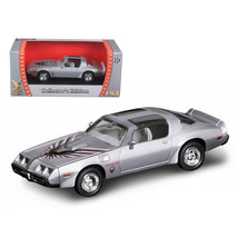 1979 Pontiac Firebird Trans Am Silver 1/43 Diecast Model Car by Road Sig... - $17.27