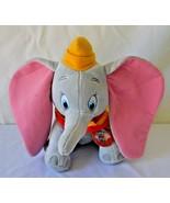 "Disney Kohls Cares for Kids Dumbo Stuffed Plush Big Ears 12"" - $7.79"