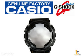 CASIO G-Shock GA-100CF-1A Original Black Rubber BEZEL Case Shell Blackout - $21.80