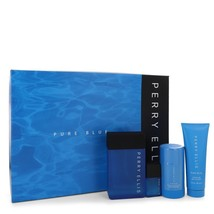 Perry Ellis Pure Blue Gift Set -- 3.4 oz Eau De Toilette Spray + 3 oz Sh... - $75.00