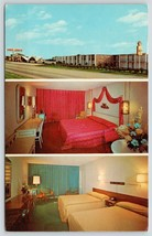 Austin Texas~Cross Country Inn~Best Western Motel~Red Guest Room~TV is O... - $7.85