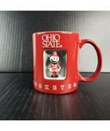 Ohio State Brutus Spinner Coffee Mug Buckeyes Mascot Collegiate Licensed... - $24.99