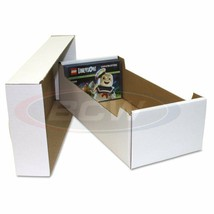 10x BCW POSTCARD STORAGE BOX - Holds 700 4 x 6 POSTCARDS or 150 toploaders - $56.95