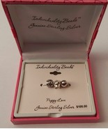 Sterling Silver Individuality Beads Charm Set of 3 - Dog Puppy Love NEW - $34.99