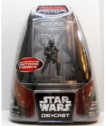 Star Wars Boba Fett Titanium Die Cast figure Vintage finish Ltd Edition ... - $28.88