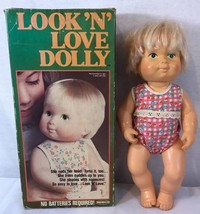vintage 1978 REMCO LOOK 'N' LOVE DOLLY original sun suit and box  - $13.91