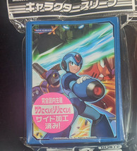 Broccoli Character Card Sleeves Mega Man X Pack Vile Sigma Zero Pokemon MTG  - $26.18