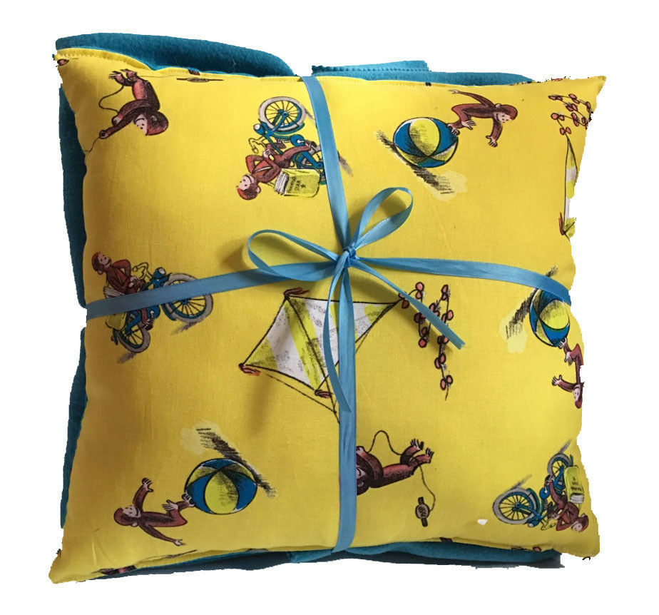 Curious George Pillow And Blanket Curious George Classic Pillow and Blanket Set