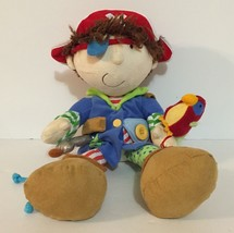 "MANHATTAN TOY Pirate Plush Toy Learning Dress Up Educational Fun 15"" - $19.79"
