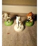 (3)  GOLF ORNAMENTS--PUPPY / POLAR BEAR / ELEPHANT--HANGING----FREE SHIP... - $17.28
