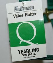 Valhoma 350QGN Green Value Halter Yearling Three to Five Hundred Pounds image 4