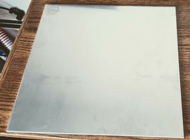 "3//16/"" Aluminum 12/"" x 36/"" 5052 Sheet Plate with Vinyl PVC Coating one side"