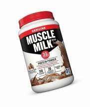 (2) Bottles | MUSCLE MILK Genuine Protein | Peanut Butter Chocolate 2.47 lb - $59.39