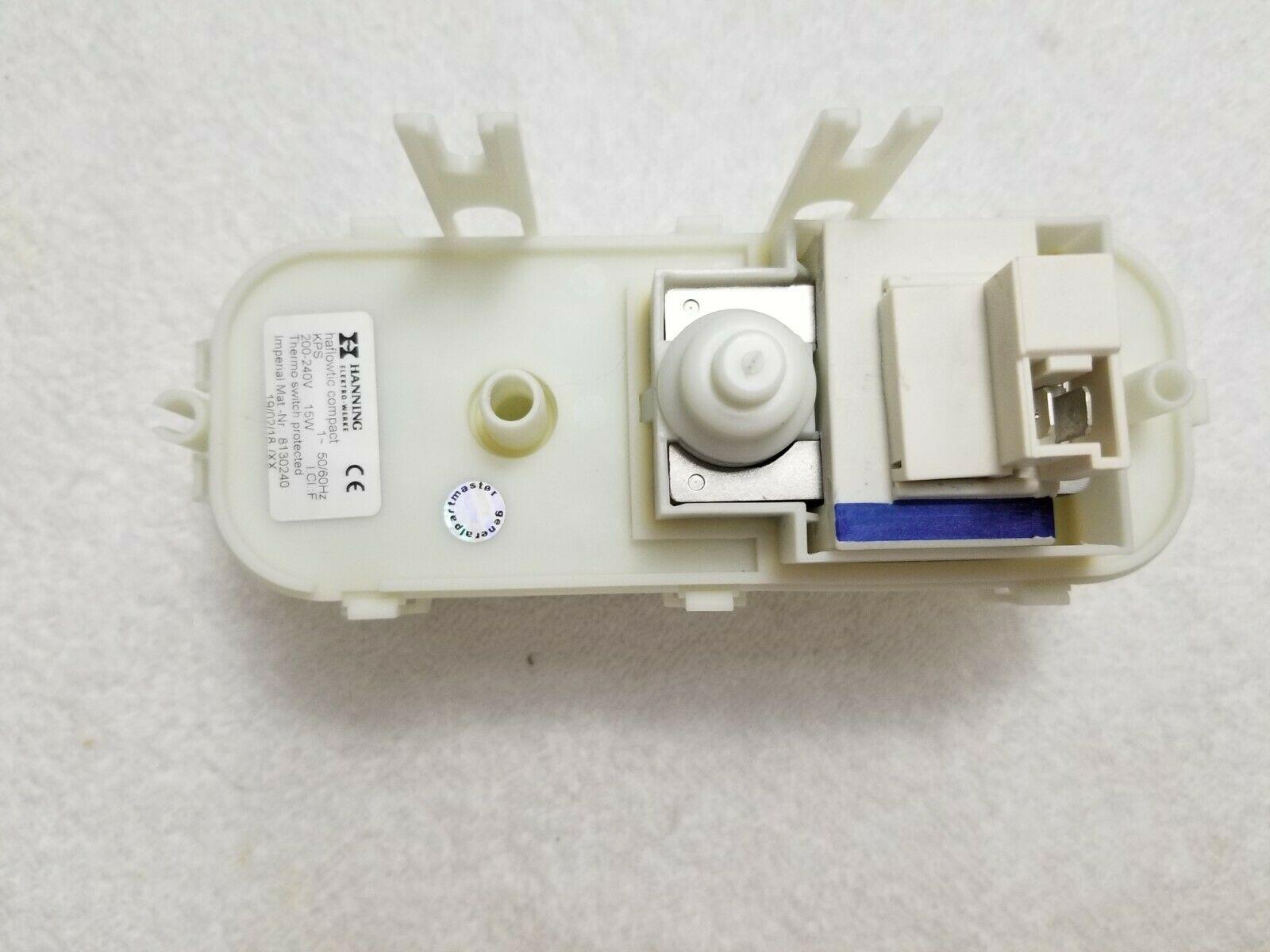 Miele Dishwasher Pump water drain + switching 200V/50-60HZ 15W PN 8600000 - $198.00