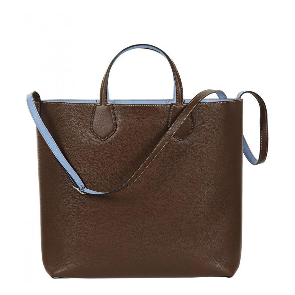 Gucci Classic Women's Baby Blue Reversible Ramble Tote Bag/Shoulder Bag