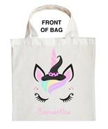 Unicorn Trick or Treat Bag - Personalized Unicorn Halloween Bag - $11.99+