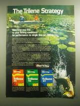 1979 Berkley Trilene Fishing Line Ad - The Trilene Strategy - $14.99