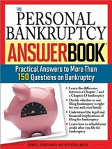 The Personal Bankruptcy Answer Book: Practical Answers to More than 175 ... - $9.81