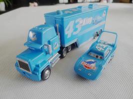 Disney Pixar Cars NO.43 King Hauler Truck & King 2pcs Metal Toy Cars New... - $28.00