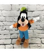 Disney Goofey Plush Classic Outfit Shaggy Cartoon Stuffed Animal Collect... - $16.82