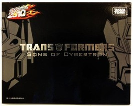 Transformers Sons of Cybertron Henkei Crystal Clear Optimus Prime & Rodi... - $276.28