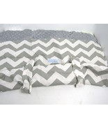 Canopy Couture Infant Baby Car Seat Canopy Cover CHEVY Grey & White - New - $24.70