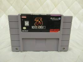 Mortal Kombat 3 (Super Nintendo Entertainment System, 1995) SNES Video Game - $13.07