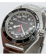 Vostok Komandirskie 650541 Automatic 24 Hours Russian Military Wristwatch  - $82.99
