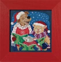 Caroling Trio 2017 Winter Series Buttons and Beads cross stitch kit  Mill Hil - $12.60