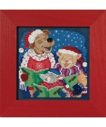 Caroling Trio 2017 Winter Series Buttons and Beads cross stitch kit  Mil... - $12.60