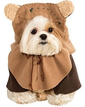 "Rubie's Official Star Wars Ewok Pet Dog Costume Medium, Neck To Tail 15""... - £20.51 GBP"