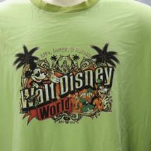 Walt Disney World Topolino Ringer T-Shirt XXL Pippo Plutone Paperino Castello - $22.98