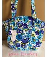 NWT Vera Bradley Blueberry Blooms GLENNA Tote Bag Shoulder Handbag - $49.99